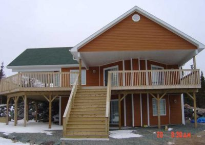 House on Belfrey Lake