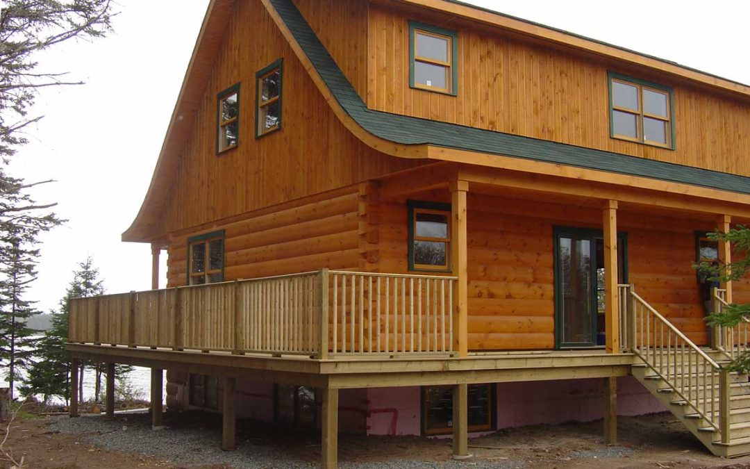 A Log Home in Cape Breton