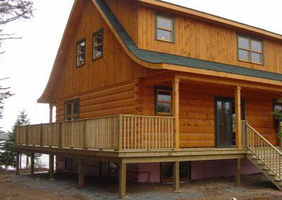 A Log Home in Cape Breton
